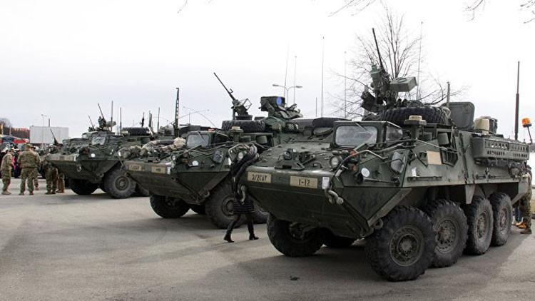 General de EE.UU. propone desplegar equipos militares pesados en Alemania