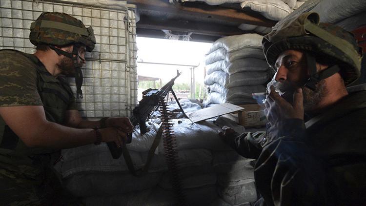 Tiroteo entre el Sector Derecho y la Policía en el oeste de Ucrania