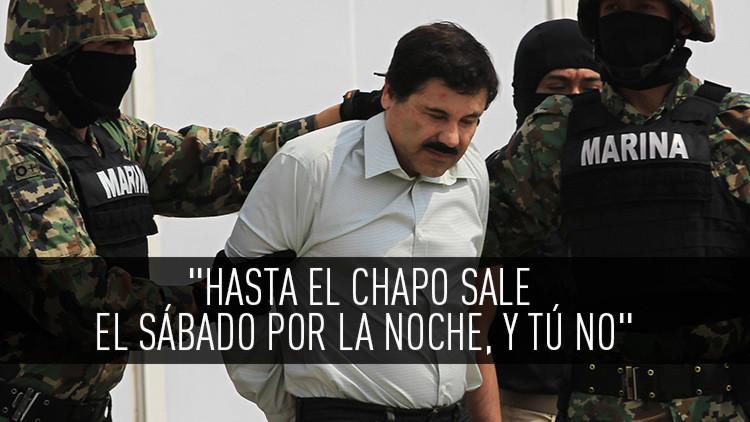 """""""Hasta el Chapo Guzmán salió el sábado por la noche"""": Twitter se burla de la Justicia mexicana"""
