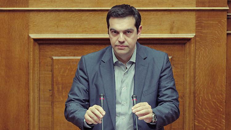 """Tsipras: """"La cuestión de la salida de Grecia de la eurozona queda en el pasado"""""""