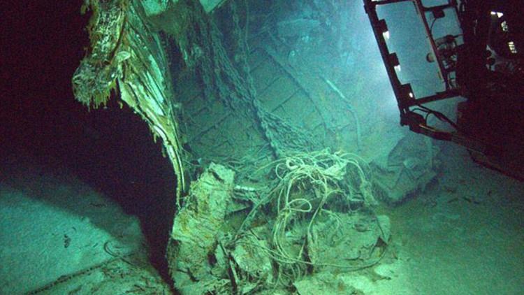 Impactantes fotos: Investigadores planean recrear los restos de un buque nazi en 3D