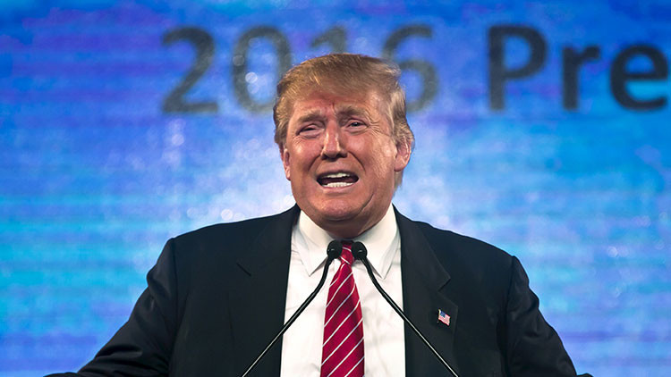 """Donald Trump recurre al FBI por las amenazas del """"hijo de El Chapo"""""""