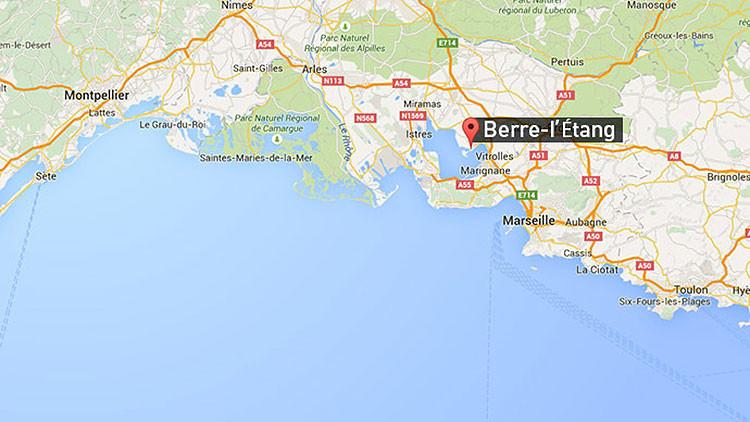 Incendio en una refinería de petróleo en Francia