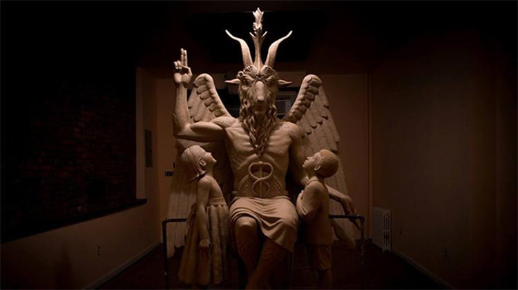 Templo Satánico develará una escultura del diablo en un lugar secreto de EE.UU.