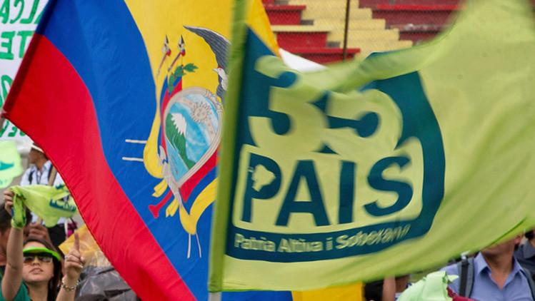 Atentado con explosivo en una sede del partido del Gobierno de Ecuador