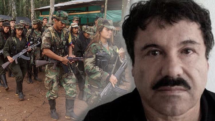 Uribe: Las FARC proveen de droga al Chapo Guzmán