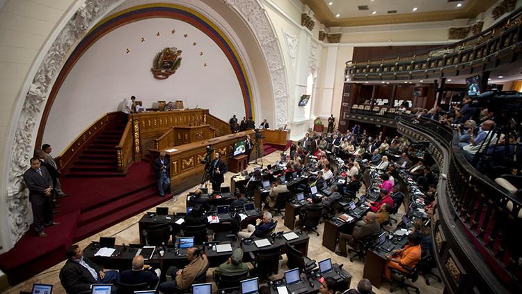 El Parlamento venezolano  aprueba un acuerdo en apoyo a las decisiones de Maduro sobre Guyana