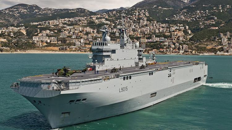 Francia podría vender los buques 'rusos' Mistral a Brasil