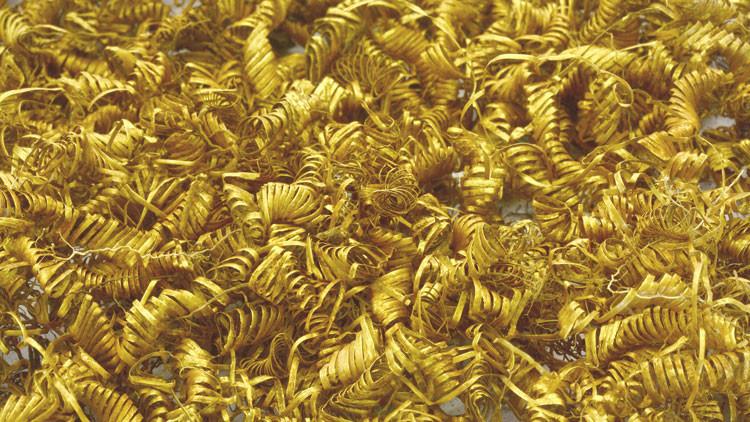Las 2.000 espirales de oro que dejan perplejos a los arqueólogos en Dinamarca