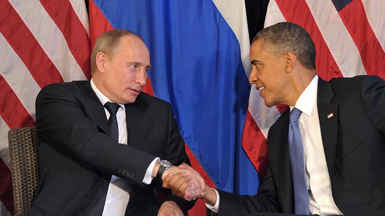 Vladímir Putin y Barack Obama