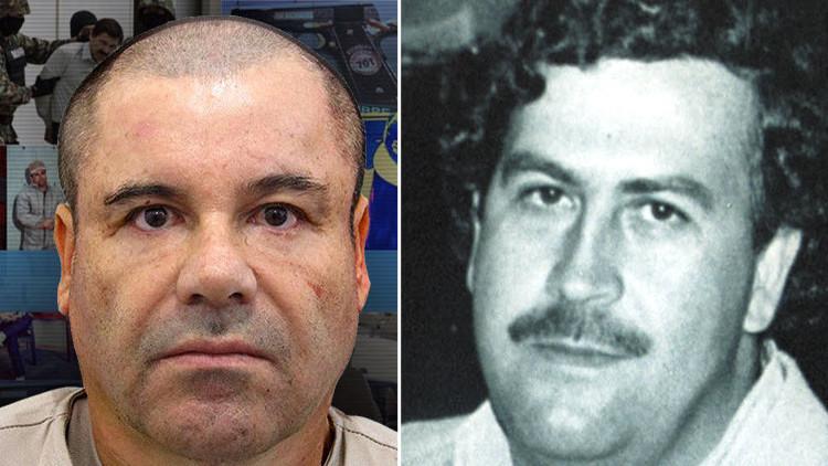 """""""Los ven como Robin Hood"""": 'El Chapo' y Pablo Escobar, dos épocas y un mismo 'modus operandi'"""