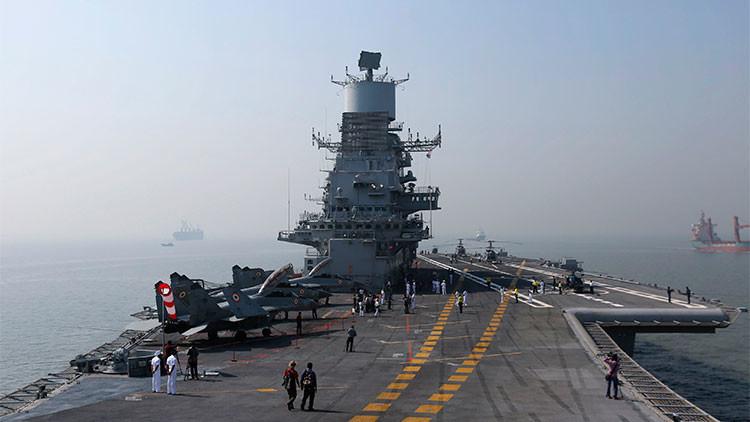 La India quiere una flota de guerra de 200 naves: ¿Una respuesta al poderío chino?