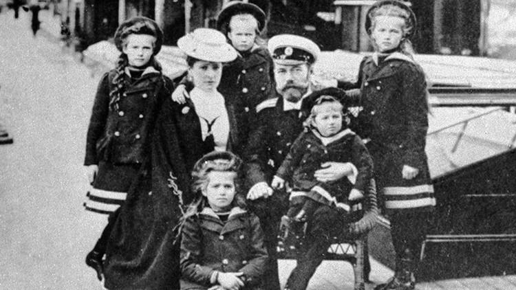 Nicolas ll y sus hijos