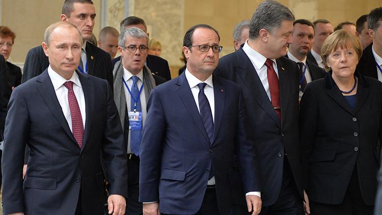 """Putin: """"Para la solución del conflicto es importante el diálogo directo entre Kiev y Donbass"""""""
