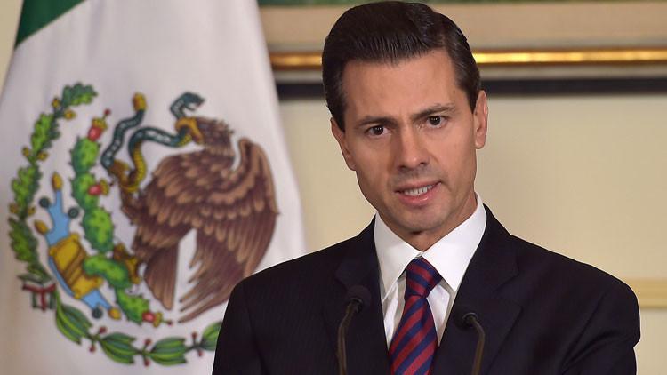 El presidente mexicano Enrique Peña Nieto habló de la fuga del capo más temido del mundo 'El Chapo'