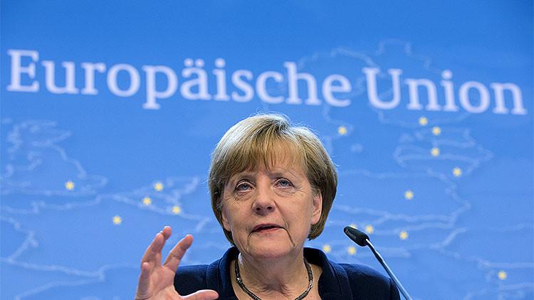 Merkel: La condonación de una deuda en una unión monetaria es imposible
