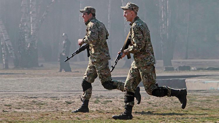 Soldados de la OTAN, la mayoría de EE.UU., efectúan ejercicios militares en Ucrania