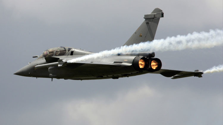 Francia entrega sus primeros cazas Rafale a un cliente extranjero