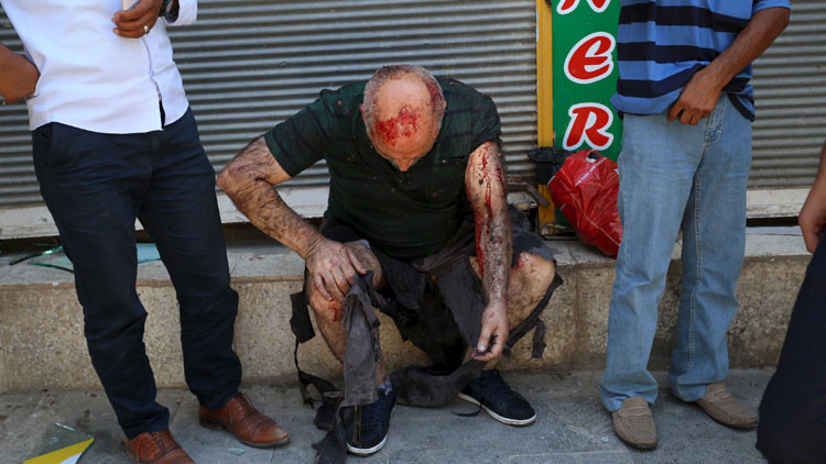 Fuerte video: Graban el momento exacto de la mortal explosión en Turquía