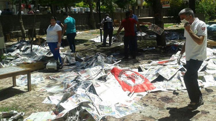 Explosión en Turquía deja decenas de víctimas