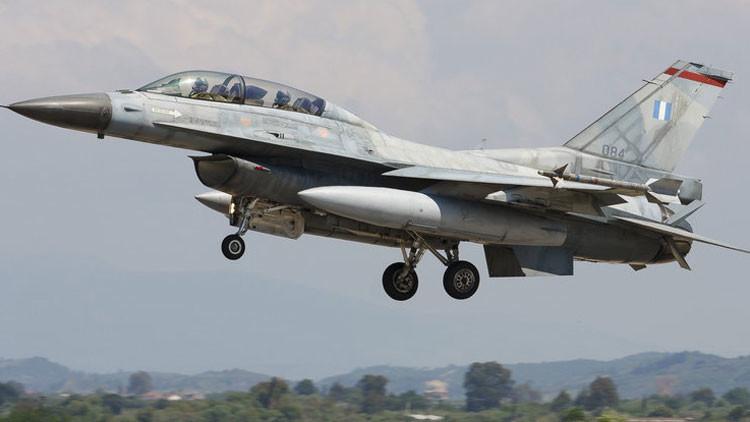Una noticia falsa se hace viral: un piloto griego 'secuestra' un F-16 para sacar dinero en Turquía