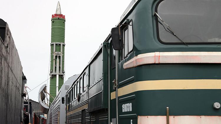 Solo las empresas nacionales participan en el desarrollo de los temibles 'trenes nucleares' rusos