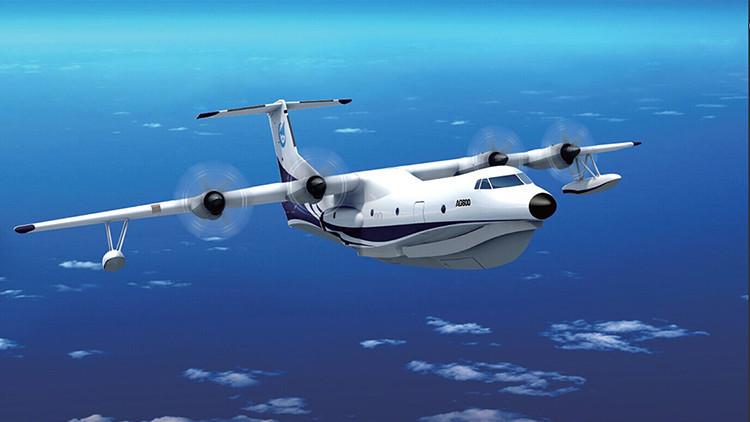 El AG600, el mayor avión anfibio del mundo, entra en la fase de ensamblaje en China