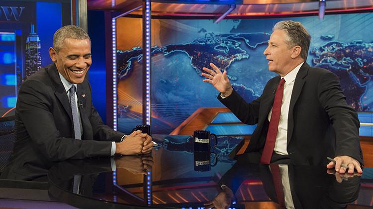 VIDEO: Obama se echa a reír a ser preguntado por los bombardeos de EE.UU. en Oriente Medio