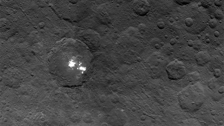 ¿Qué son los puntos brillantes de Ceres?: los científicos, a un paso de solucionar el enigma