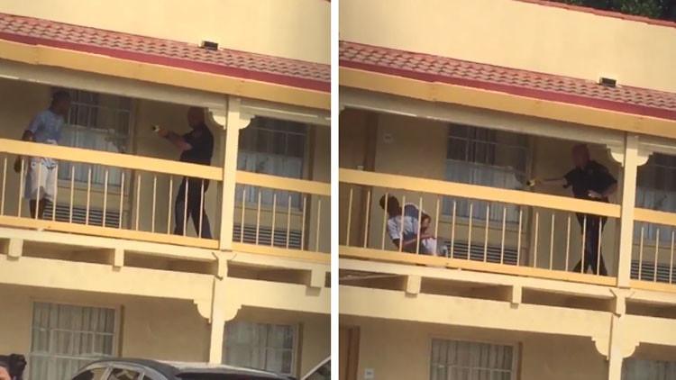Indignación en la Red por el uso policíal de un 'taser' contra un afroamericano (video)