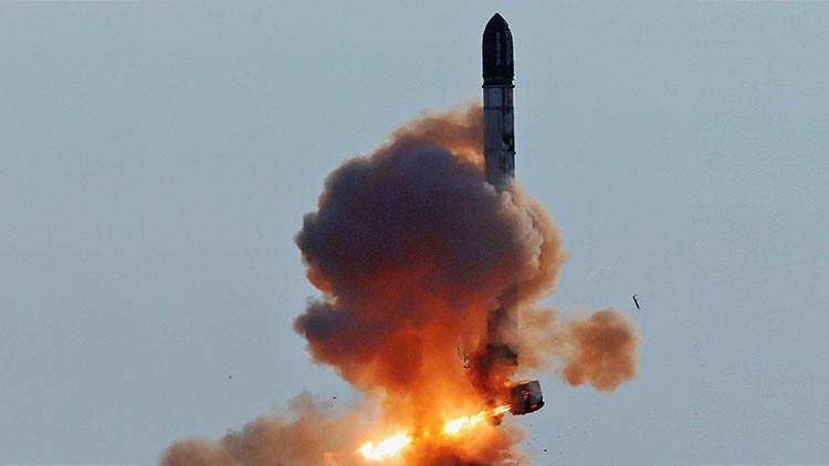 Rusia planea reanudar pruebas de misiles balísticos intercontinentales Satan