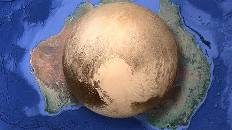 Plutón: ¿Es el planeta 'enano' tan grande como Australia?