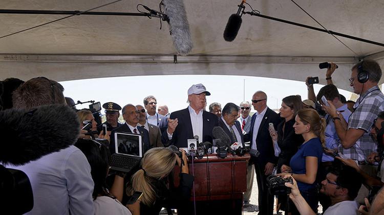 "Donald Trump: ""Telemundo debería estar avergonzado"""