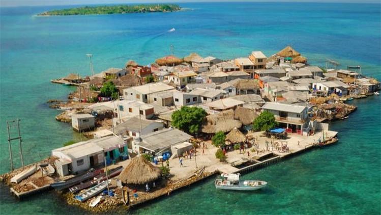 El lugar más poblado de la Tierra se encuentra en un pequeño islote del Caribe