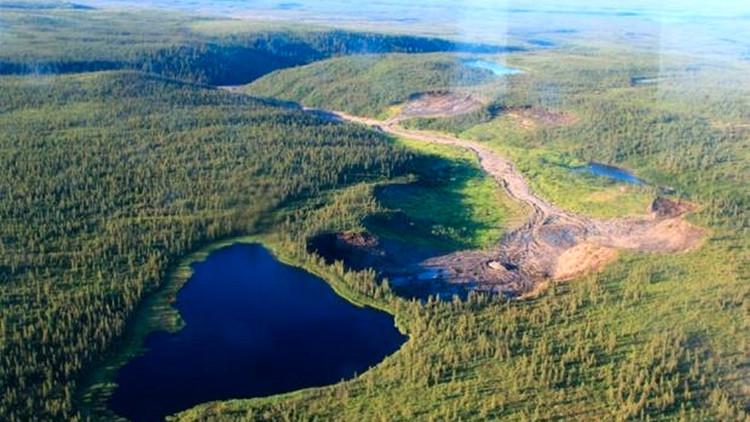 Calentamiento global desbordará un lago ártico con catastróficas consecuencias