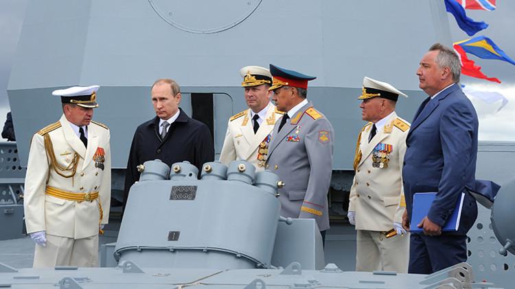 Putin aprueba una nueva versión de la Doctrina Marítima de Rusia