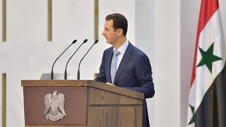 """Al Assad: """"Aquellos que sembraron las semillas del terrorismo no pueden combatirlo"""""""
