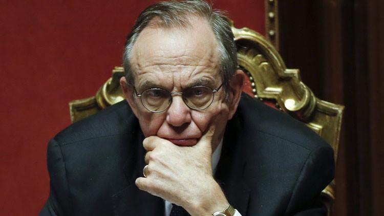 """Ministro de Economía de Italia: """"Se espera éxodo masivo de países de la Eurozona"""""""