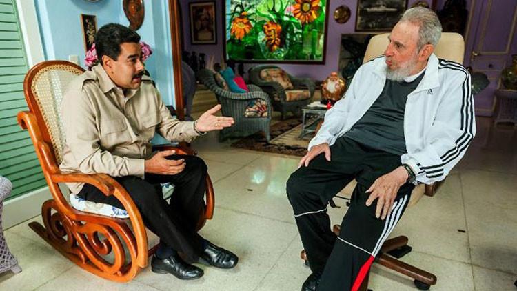 """Maduro en una carta a Fidel Castro: """"Hoy más que nunca sentimos la llama viva de liberación"""""""