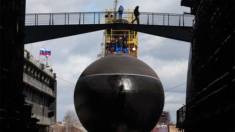 Rusia se pone a la delantera con submarinos atómicos de quinta generación