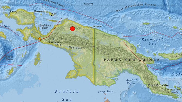 Un terremoto de 7 grados de magnitud sacude Indonesia