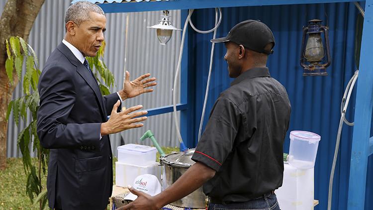 Bienvenido a la tierra de los ancestros: Kenia recibe a Obama con caricaturas