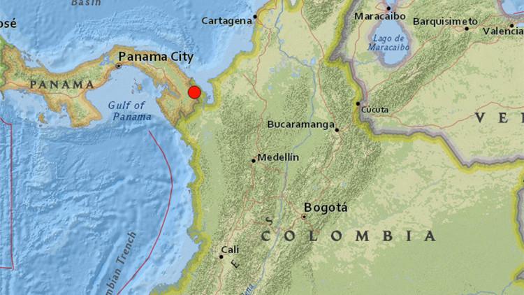 Un terremoto de magnitud 5,9 se registra en la frontera entre Panamá y Colombia