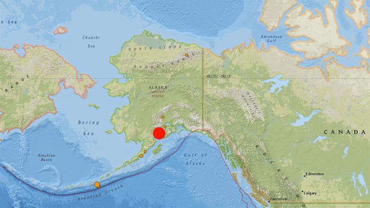 Un sismo de magnitud 6,3 sacude Alaska