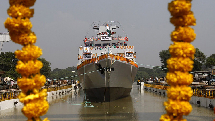 """Kadmatt, el buque indio """"asesino de submarinos"""" que busca contrarrestar a China"""