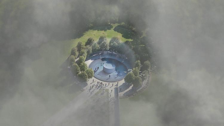 """La mayor torre """"come polución"""" convertirá el aire contaminado en joyas"""