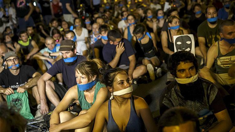 """Primer sancionado por la 'Ley Mordaza': """"Quieren tapar la voz del ciudadano crítico"""""""