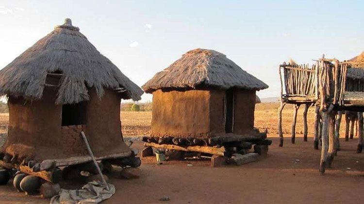 Las cabañas africanas ocultan el secreto del intercambio de los polos magnéticos