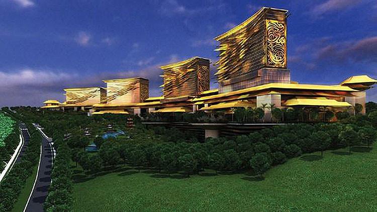 Fotos: El impresionante 'Las Vegas' del Lejano Oriente ruso, a punto de abrir sus puertas