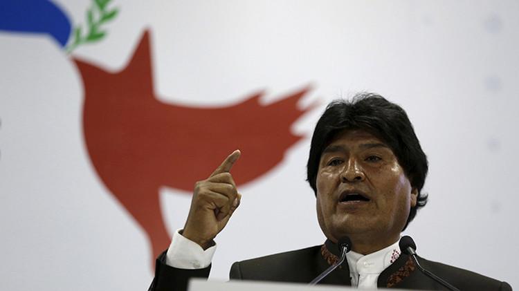 Morales está dispuesto a restablecer relaciones diplomáticas con Chile para discutir salida al mar